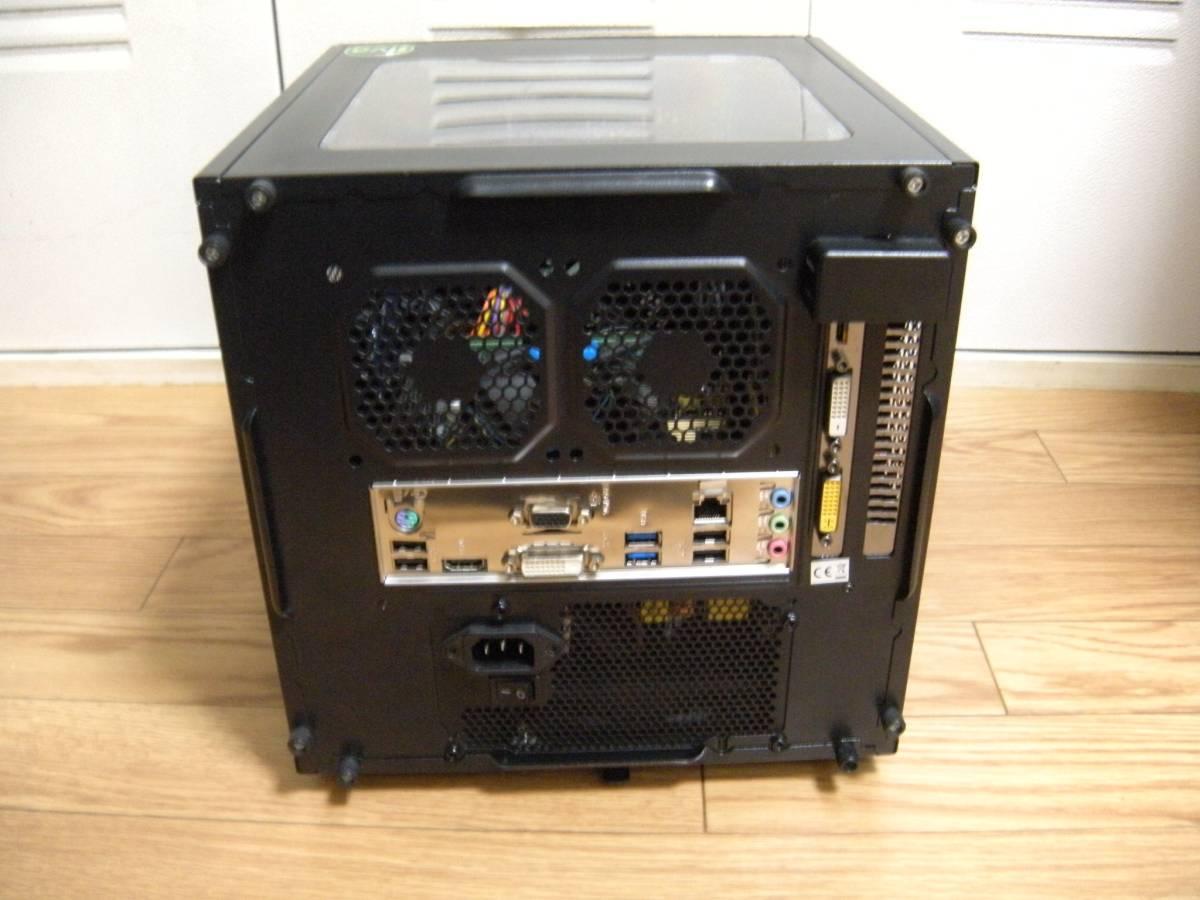 自作機 Core i7 4790T 8GB SSD120GB HDD2TB GTX750 Thermaltake mini-itxケース Win10home_画像4