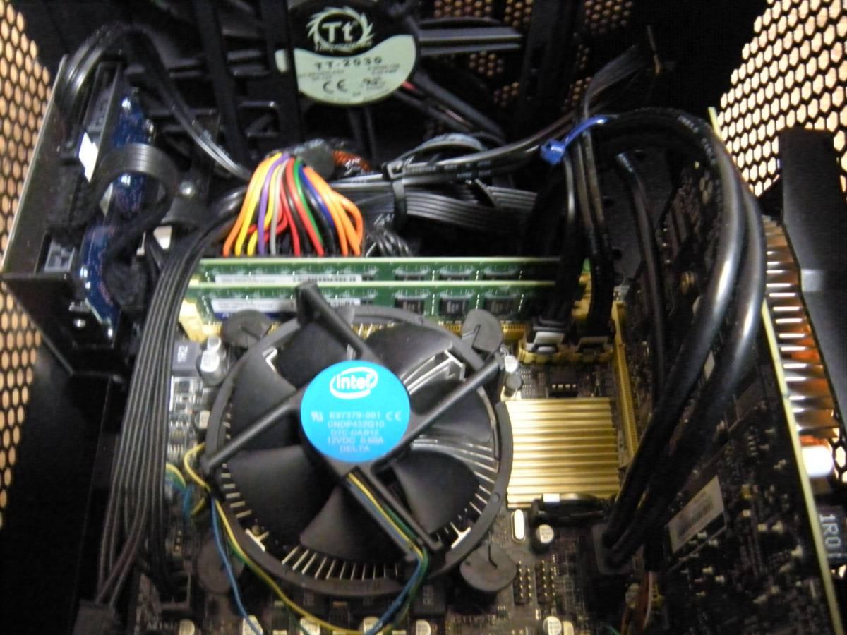 自作機 Core i7 4790T 8GB SSD120GB HDD2TB GTX750 Thermaltake mini-itxケース Win10home_画像6