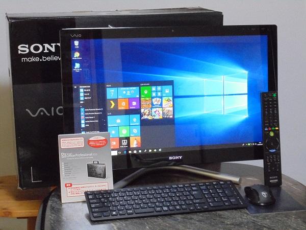 最速「新」カスタムVAIO SVL2411AJ  8GB+新品SSD275GB搭載  Windows10 Office2010 超美品