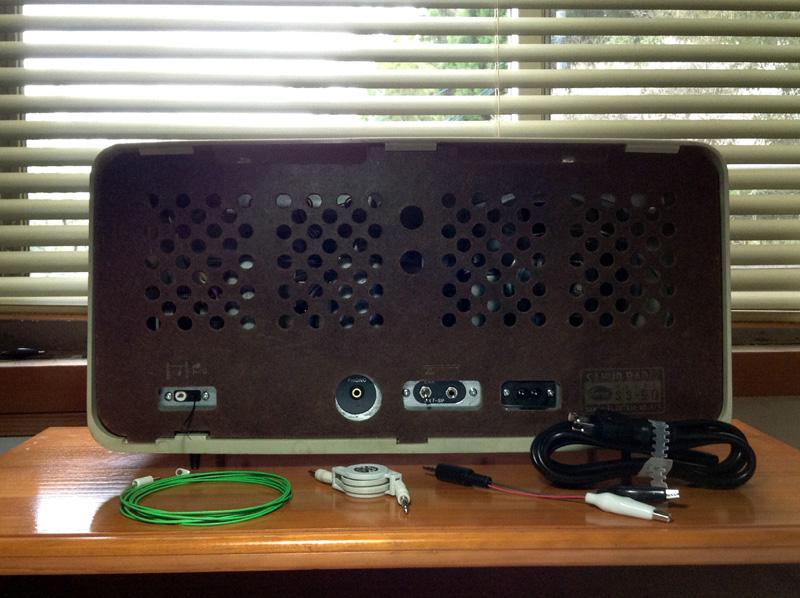 真空管ラジオ サンヨー SS-90(Hi-Fi)【整備済】_画像3