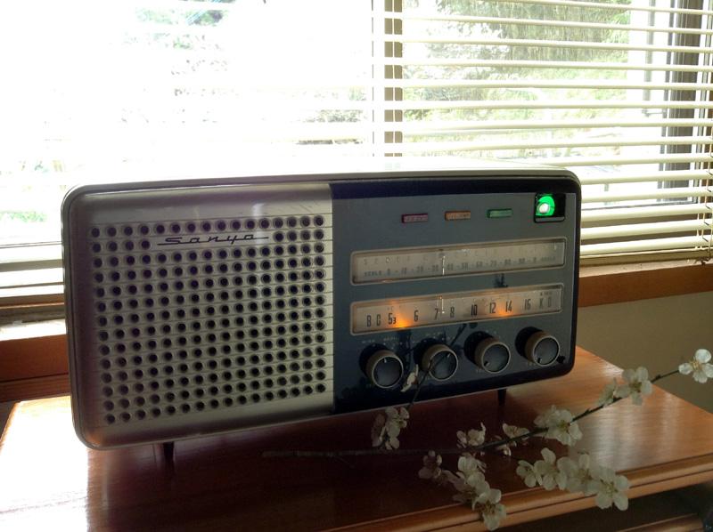 真空管ラジオ サンヨー SS-90(Hi-Fi)【整備済】
