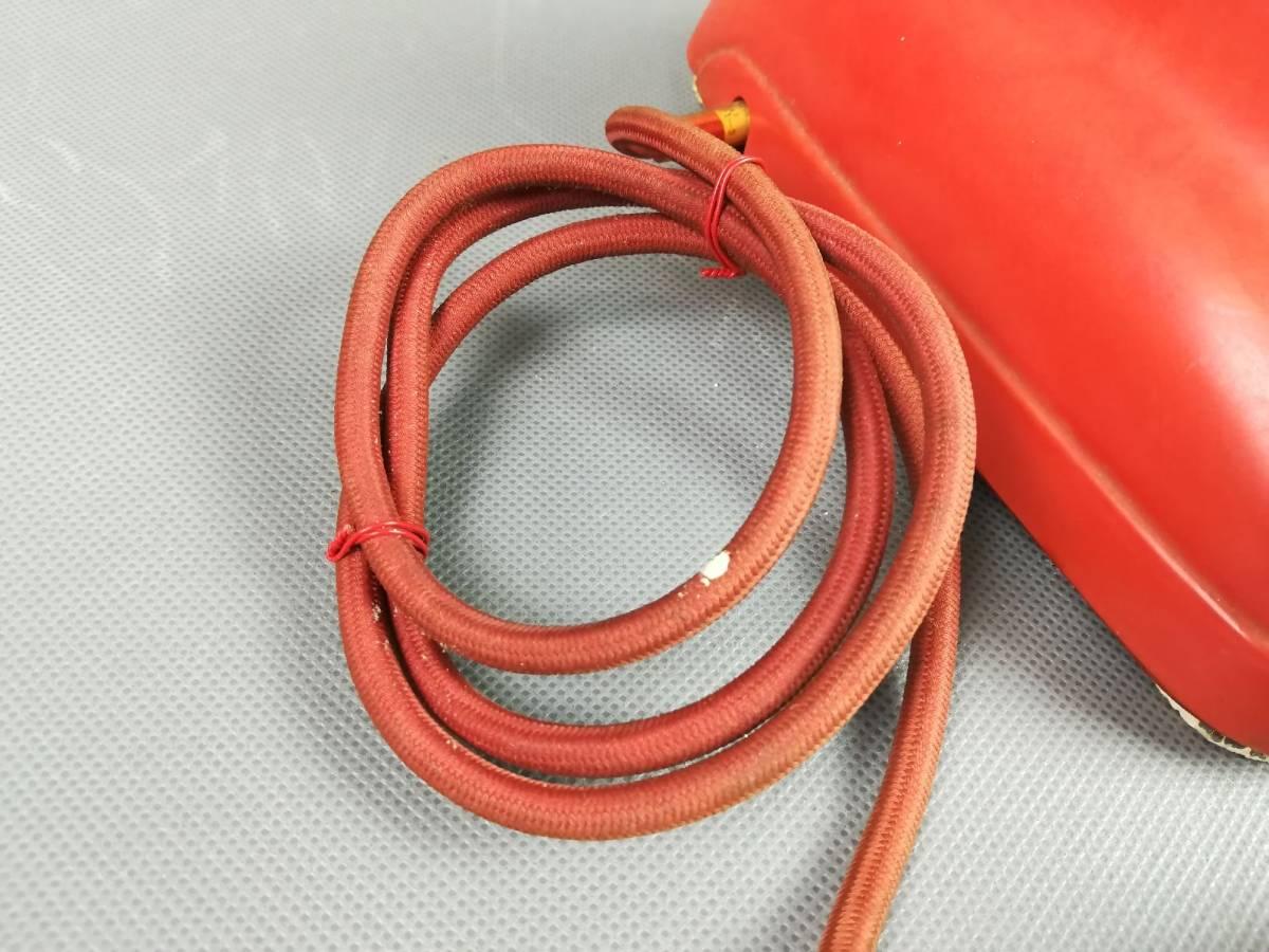 激レア!赤色 4号A自動式電話機 公衆電話機 赤 名古屋電気通信工作工場_画像10