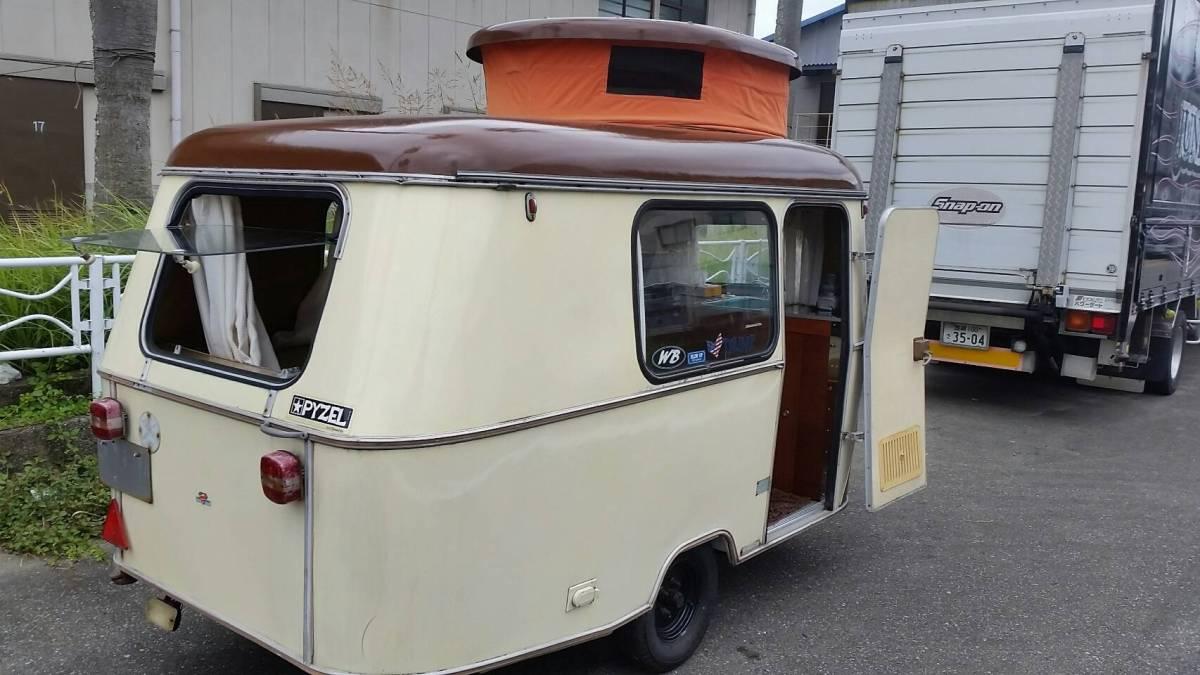 値下げ 希少 激レア ヴィンテージ 1971年 ERIBA エリバ キャンピングトレーラー 牽引免許不要 新規登録中 VW タイプⅠ タイプⅡ タイプⅢ_画像3