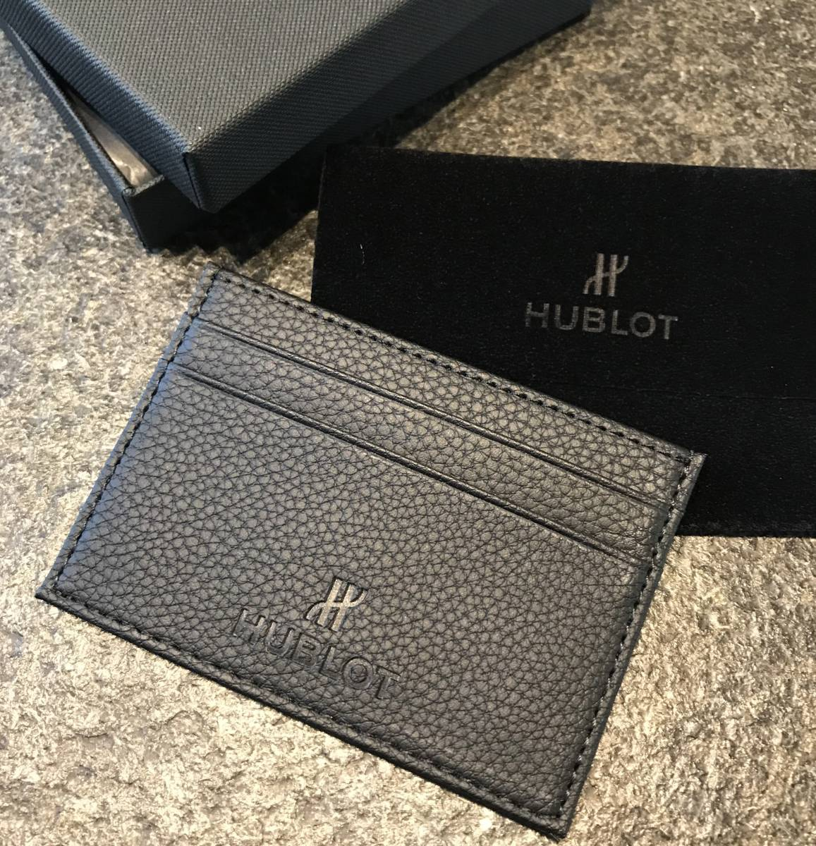 ウブロ 非売品 ノベルティ カードケース、カード入れ 新品