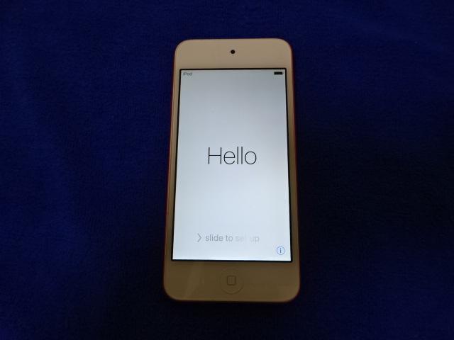 【使用品】APPLE アップル iPod touch A1421 32G ピンク