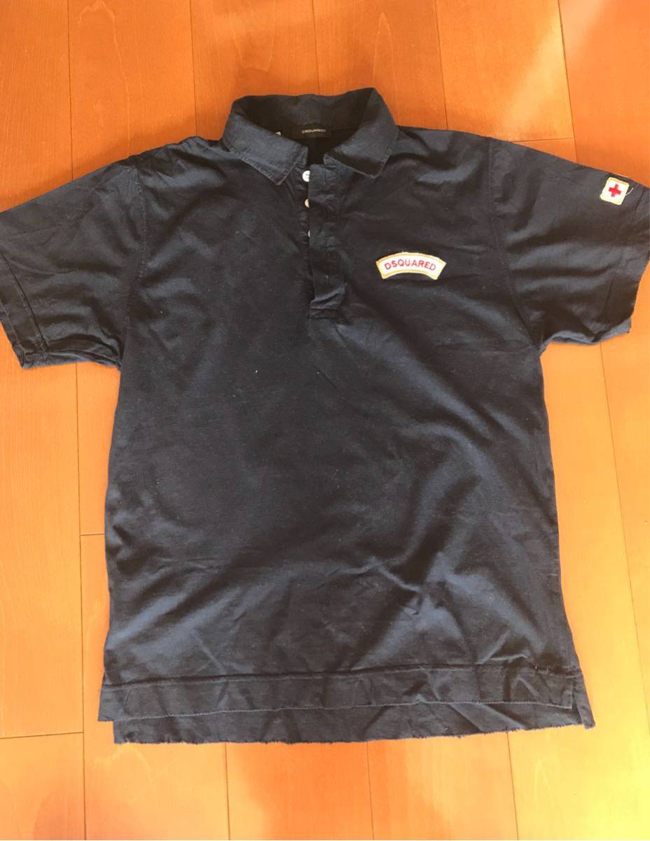 Yahoo Salling Dsquared2 Dsquared Real Badge Polo Shirt Auction AqWBH