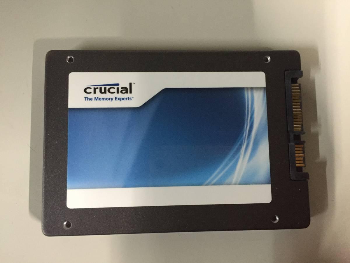 crucial SSD 2.5インチ SATA  HDD  64GB