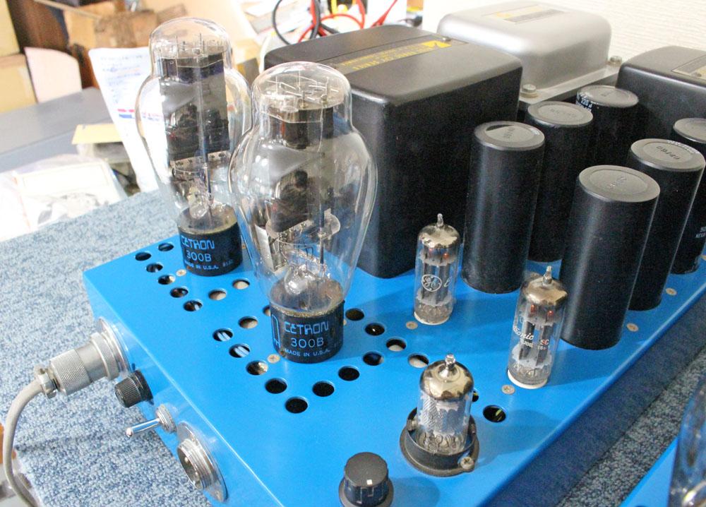 極上の音作り!Cetron 300B PP 自作管球式モノブロックアンプ ペア完動品_画像3