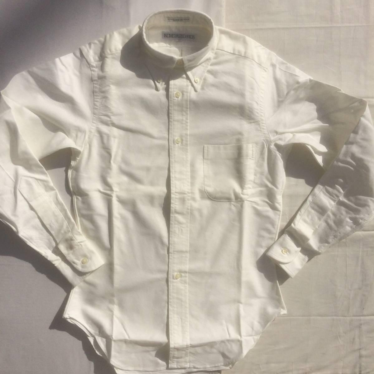 INDIVIDUALIZED SHIRTS インディビジュアライズドシャツ ダンリバー オックスフォード BD 白 ホワイト 長袖 シャツ xxs 13.5 usa製_画像1