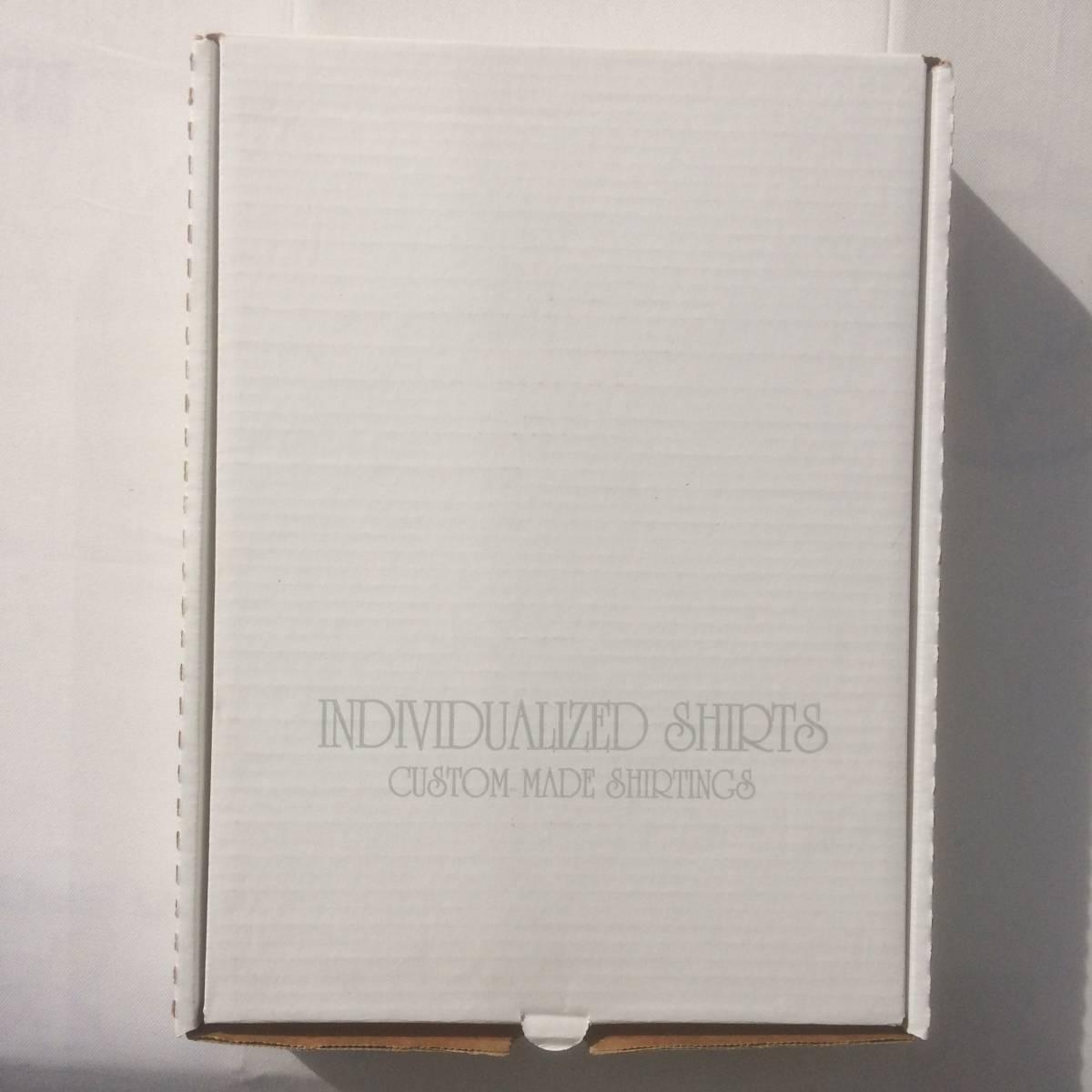 INDIVIDUALIZED SHIRTS インディビジュアライズドシャツ ダンリバー オックスフォード BD 白 ホワイト 長袖 シャツ xxs 13.5 usa製_画像2