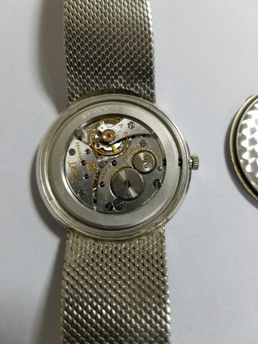 PIAGET(ピアジェ)K18WG(金無垢)メンズ腕時計_画像3