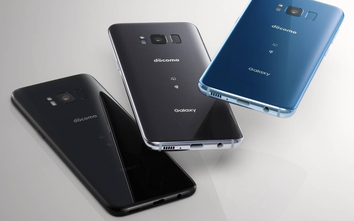 ★新品未使用★ ドコモ Galaxy S8 SC-02J MidnightBlack 本体 判定○