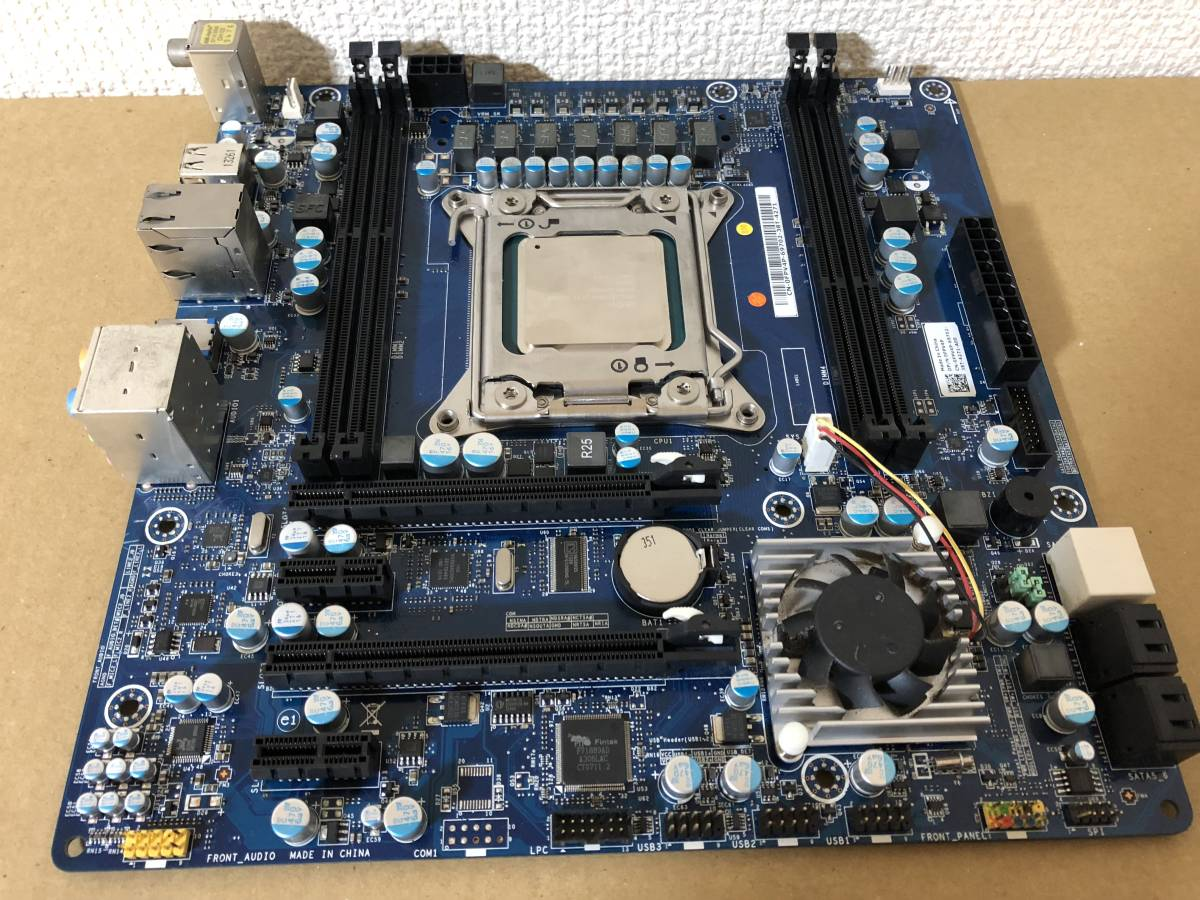 ALIENWARE R4 X79 LGA 2011 マザーボード E5 2695 V2 CPU ジャンク品