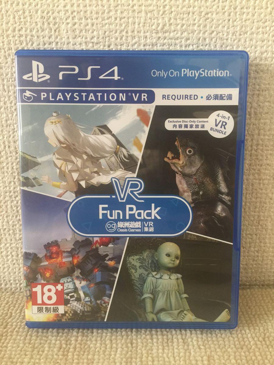 [PSVR] Oasis Games VR Fun Pack 輸入版    Light Tracer Dying: Reborn  Pixel Gear  Weeping Doll