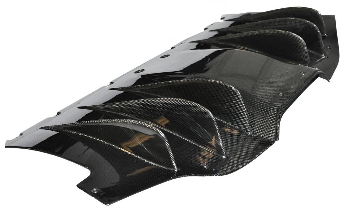 #送料無料/最高精度ドライカーボンFerrari フェラーリ458ドライカーボンリアディフューザー_画像5