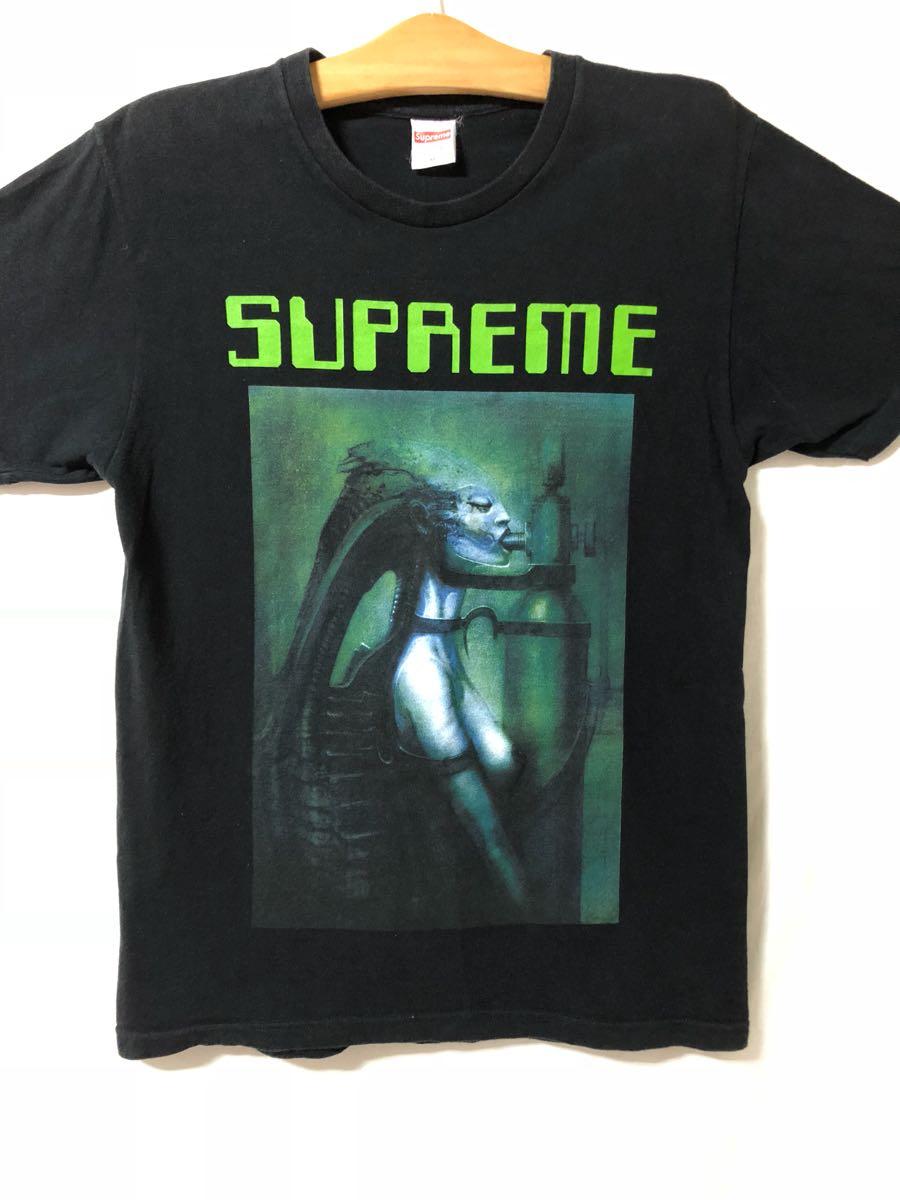 1スタ 正規品 Supreme シュプリーム ギーガー コラボ Tシャツ M エイリアン