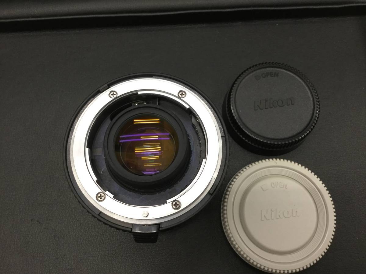 Nikon ニコン AF-S TELECONVERTER テレコンバーター TC-20EII 2x カメラ 周辺機器 アイテム アクセサリー *13950_画像2