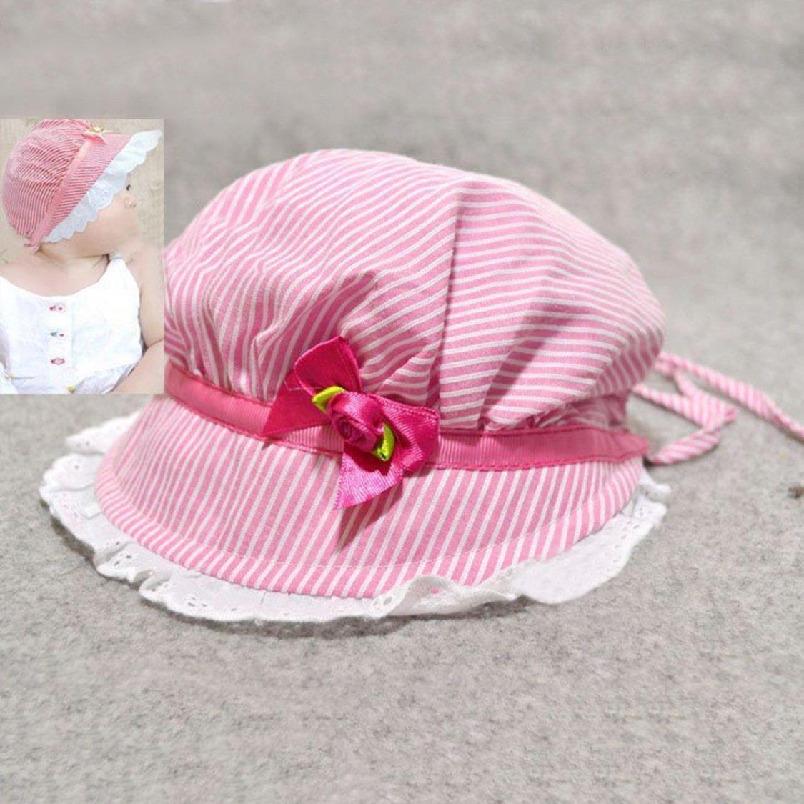 【送料無料!】赤ちゃん 昭和レトロ 帽子 ベビーボンネット リボーンドール用 新生児用 0歳児 かわいい (ピンク)