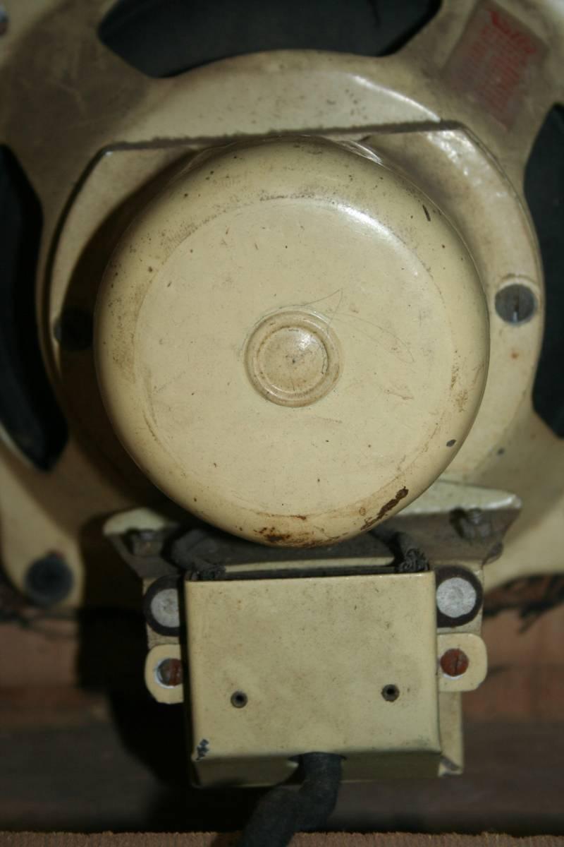 古い木製ケースのスピーカ ジャンク品_画像7