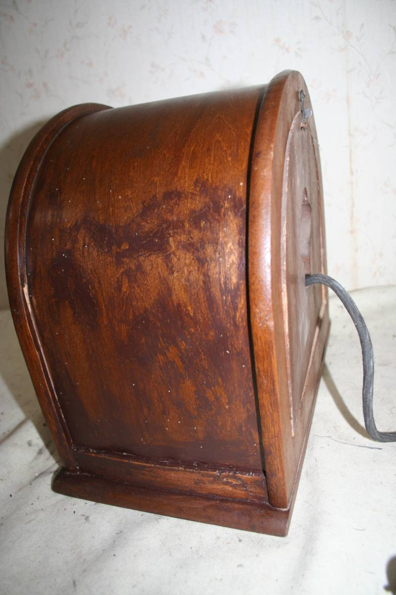 古い木製ケースのスピーカ ジャンク品_画像9