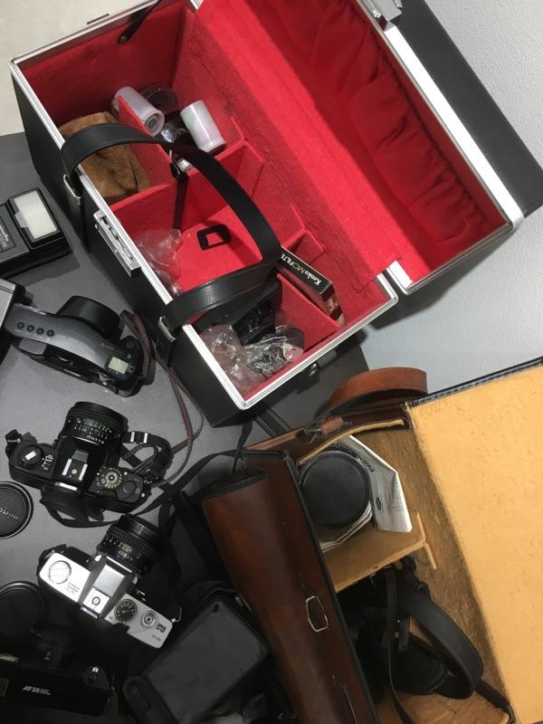 minolta SR-T XG-E Canon AF35ML ZOOM CARDIA 2000DATE MINOLTA a7700i セット_画像9