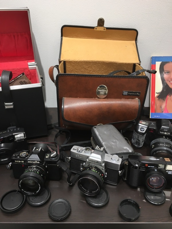 minolta SR-T XG-E Canon AF35ML ZOOM CARDIA 2000DATE MINOLTA a7700i セット_画像4