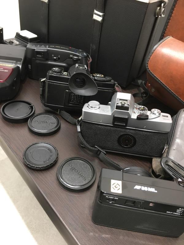 minolta SR-T XG-E Canon AF35ML ZOOM CARDIA 2000DATE MINOLTA a7700i セット_画像6