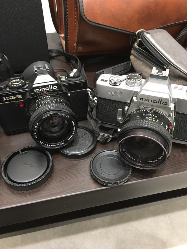 minolta SR-T XG-E Canon AF35ML ZOOM CARDIA 2000DATE MINOLTA a7700i セット_画像2