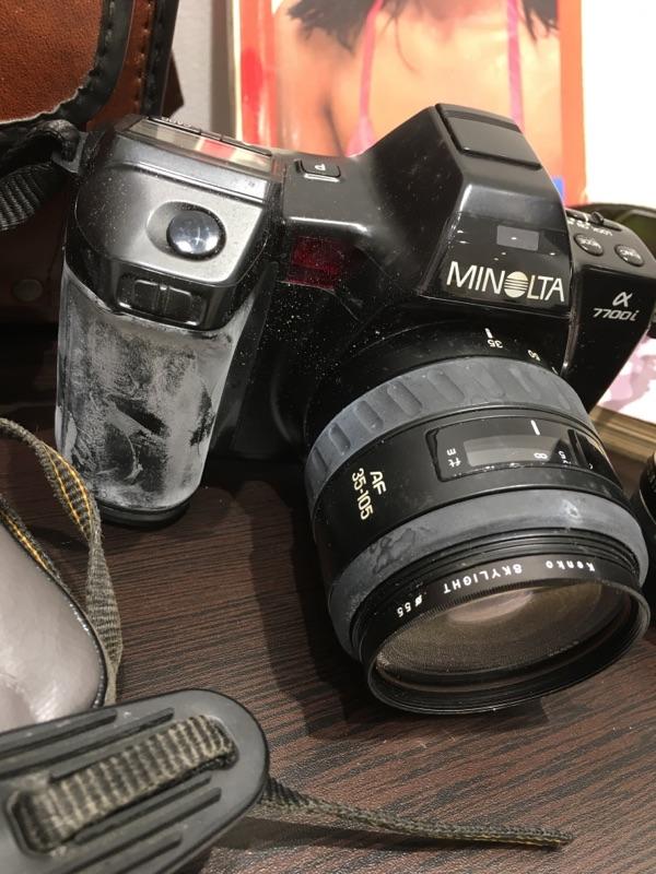 minolta SR-T XG-E Canon AF35ML ZOOM CARDIA 2000DATE MINOLTA a7700i セット_画像7