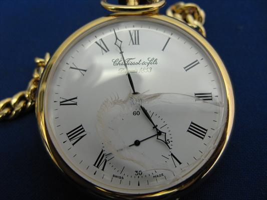 ティソ Tissot&Fils Depuis 1853 手巻き懐中時計 17石 アクセサリー 時計 アンティーク コレクション レトロ