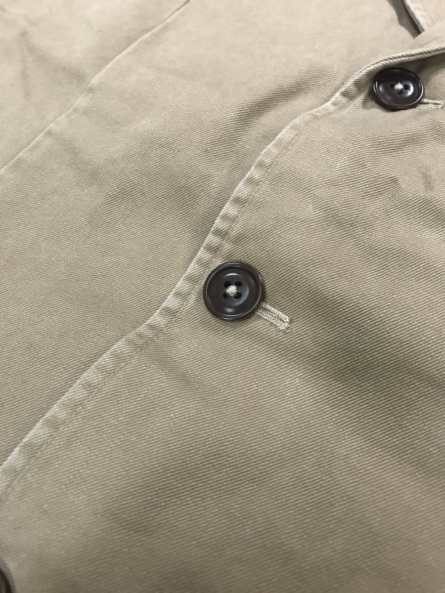 新品 11389 40R コットン ジャケット ポロ polo ラルフ スポーツ コート スーツ 三つボタン_画像3