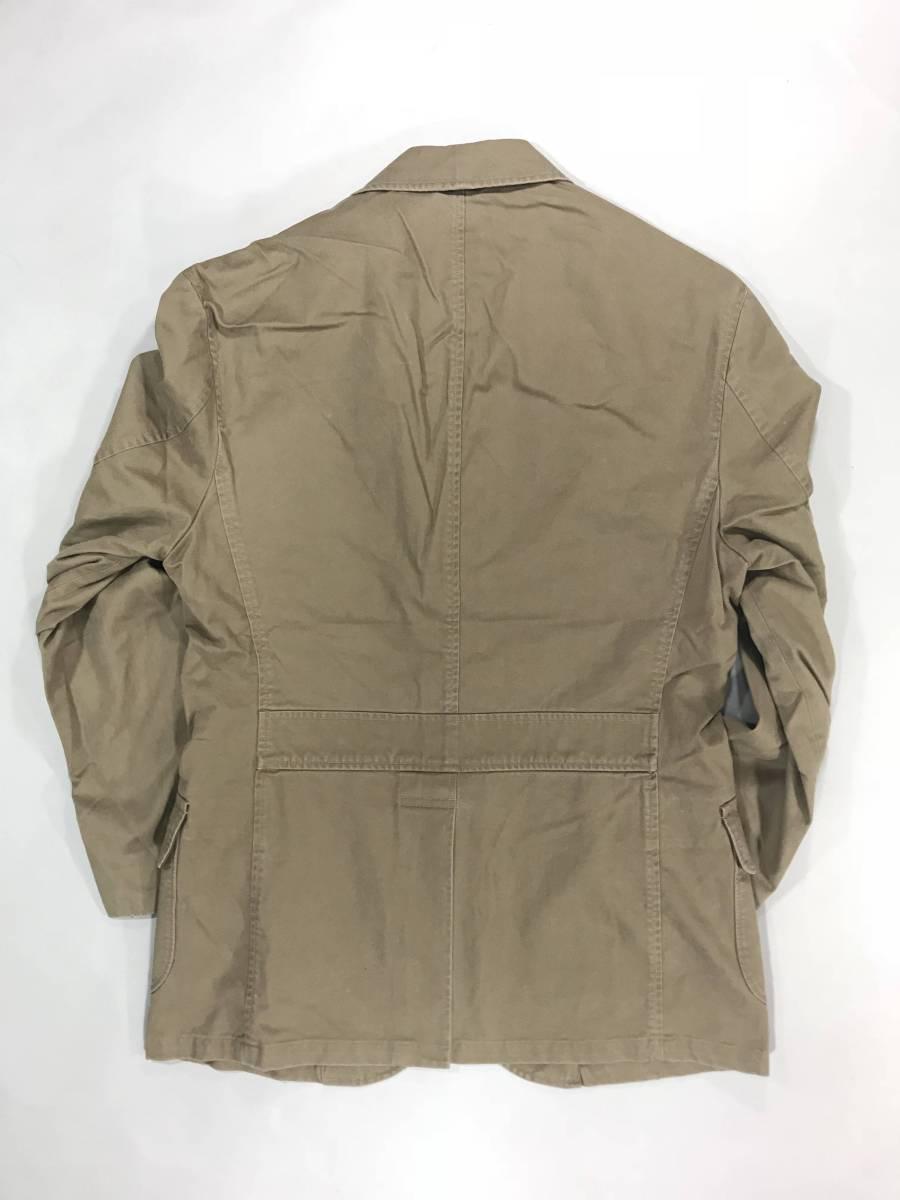 新品 11389 40R コットン ジャケット ポロ polo ラルフ スポーツ コート スーツ 三つボタン_画像6