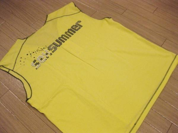 本物 名作 新品 KVA クリスヴァンアッシュ KRIS VAN ASSCHE ノースリーブ カットソー Tシャツ S_画像3