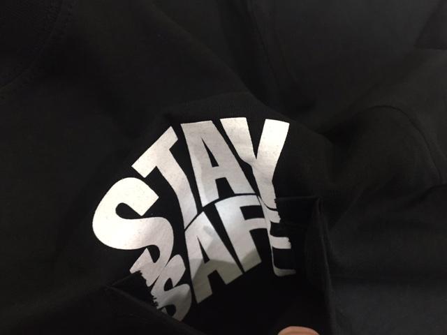 JUDY BLAME SAFETY PIN TEE 安全ピン STAY SAFE ジュディ ブレイム MASSIVE ATTACK マッシブアタック_画像3