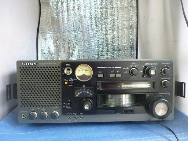 名機【SONY】ソニー 31バンドマルチバンドレシーバー(FM/中波/短波/BCLラジオ)/ICF-6800A