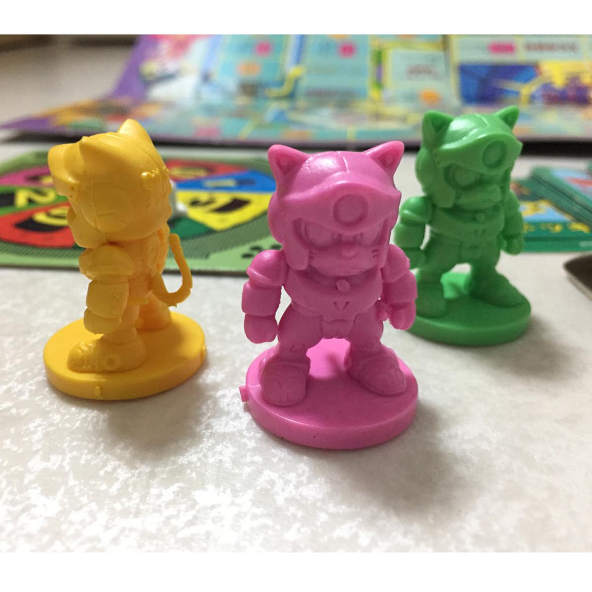 バンダイ キャッ党忍伝てやんでえ パーティジョイ Samurai Pizza Cats ボードゲーム パーティージョイ Board Games_画像4