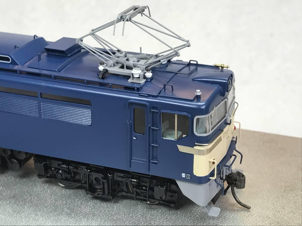 天賞堂・HO・EF61 5号機(特定機)青色・旅客用電気機関車・フクシマ製HG仕様・美品