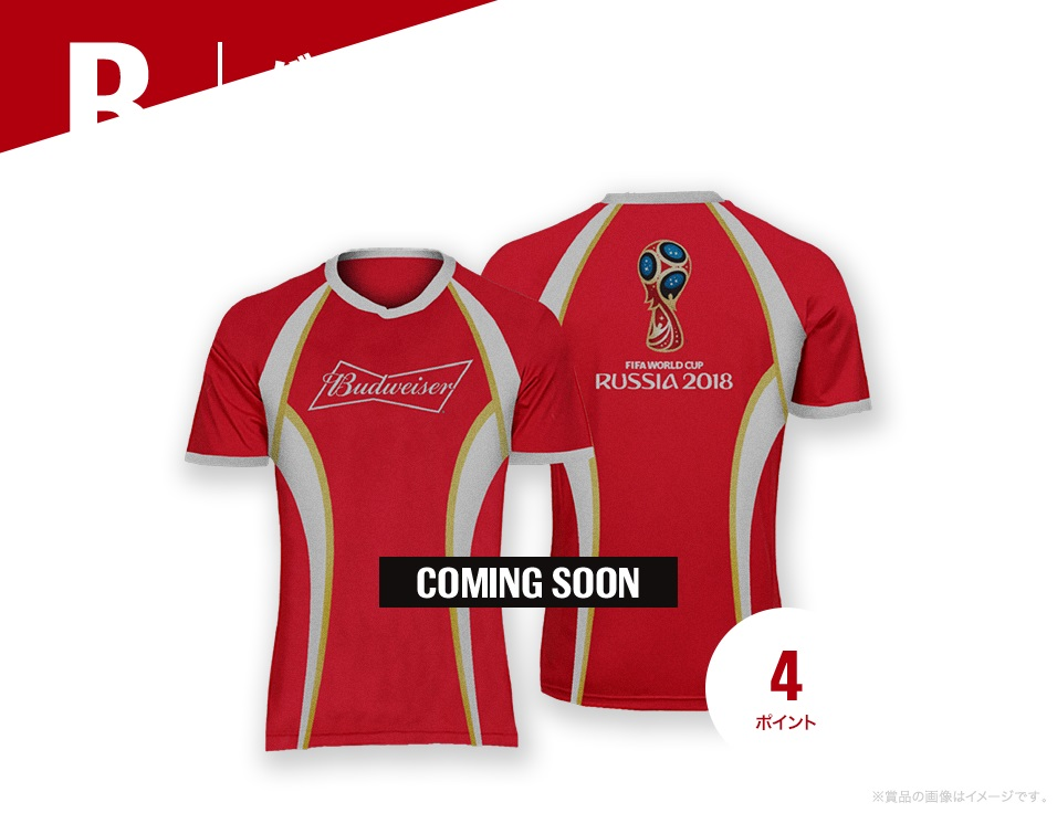 バドワイザー FIFAワールドカップを楽しもうキャンペーン応募シール60枚_画像2