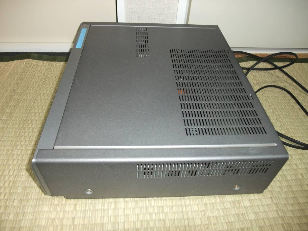 【ジャンク品】SONY / ソニー WV-BW3 ビデオカセットレコーダー 8ミリビデオデッキ VHSデッキ_画像4