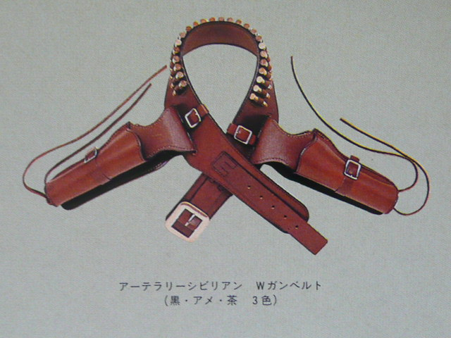 TOKYO CMC 東京 ホルスター COLT SAA コルト ガンベルト 革 レザー 検索)HWS/ハートフォード/MGC/タナカ/コクサイ/マルシン リボルバー _画像2