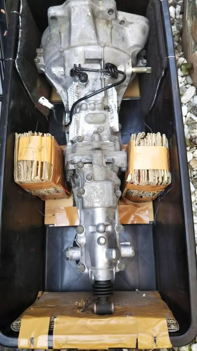 スズキ カプチーノ EA11R用 OH済みミッション 100km使用_画像3