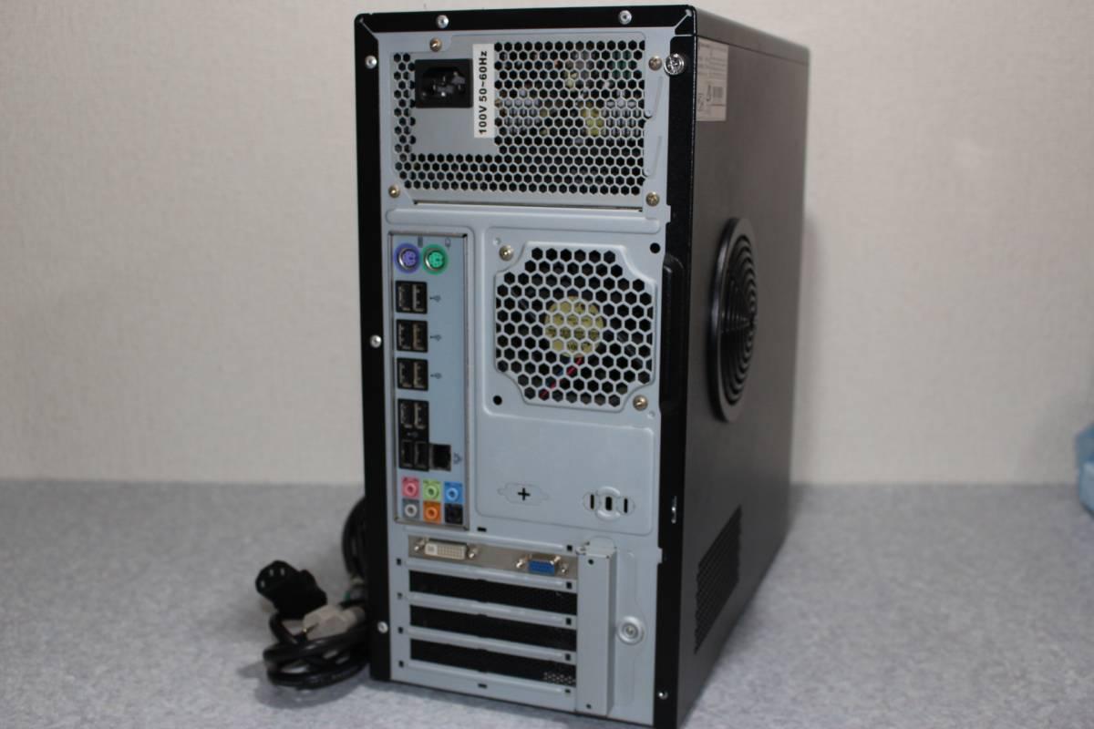自作系 高性能デスクトップ Corei7 搭載 1THDD メモリ8G windows10 64bit ゲームPCにも拡張可_画像5
