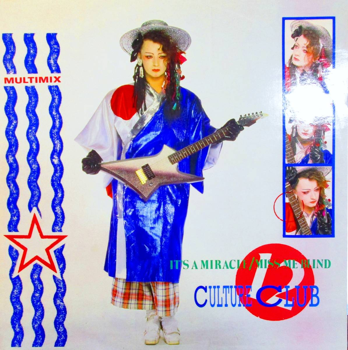 """■12""""/UK原盤■ CULTURE CLUB - IT'S A MIRACLE / MISS ME BLIND_画像1"""