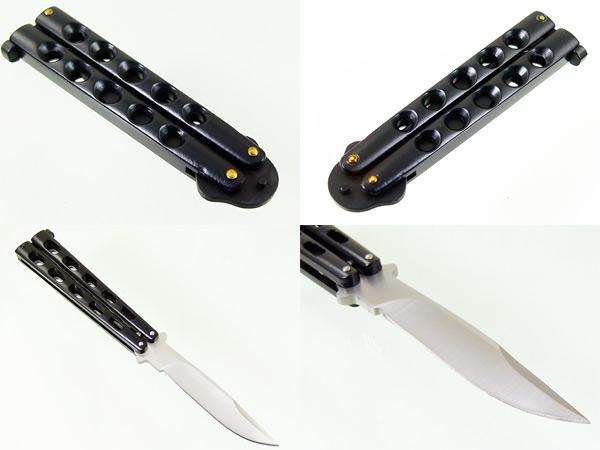バタフライ ナイフ butterfly knife 7129P 197g 同梱ok_画像3