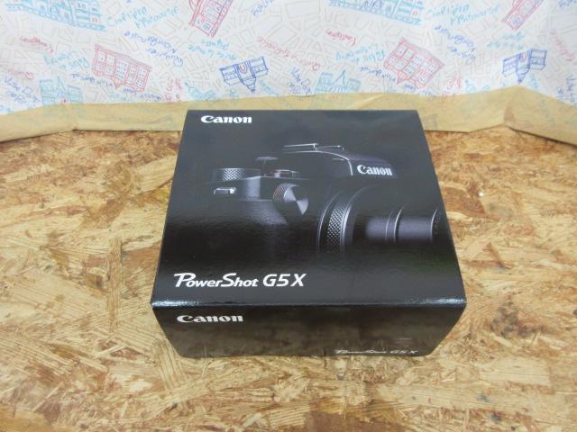 【未使用】Canon キャノン デジタルカメラ PowerShot G5X ブラック