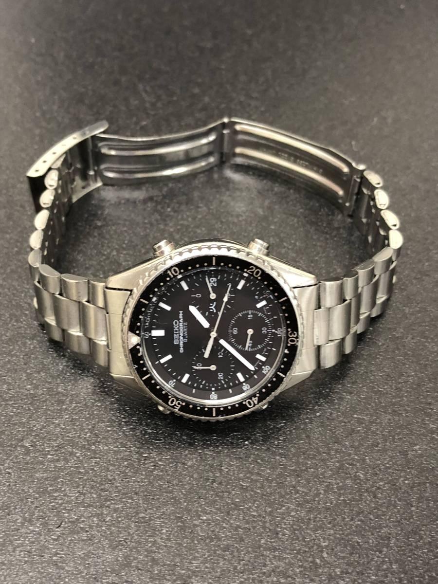 腕時計 SEIKO セイコー スピードマスター 7A38-6040 メンズクオーツ bK25_画像3