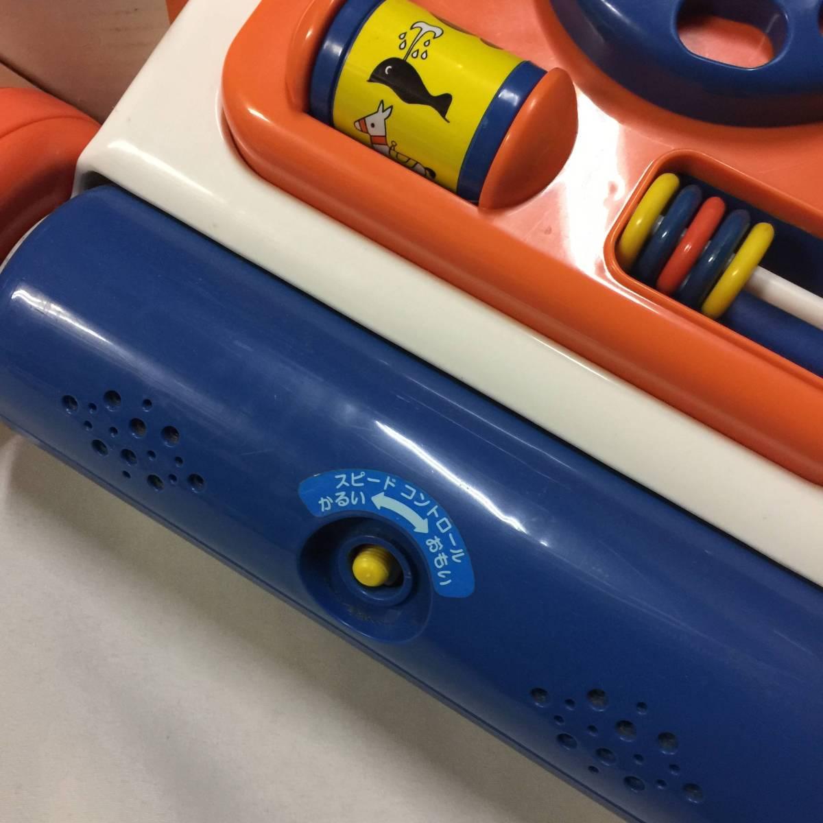 Miffy walker ミッフィー ウォーカー 押し車 手押し車 知育玩具 ides アイデス社製 8ヵ月~3歳_画像2