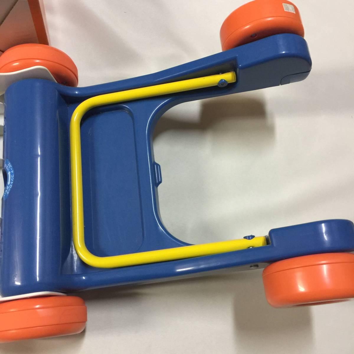 Miffy walker ミッフィー ウォーカー 押し車 手押し車 知育玩具 ides アイデス社製 8ヵ月~3歳_画像4