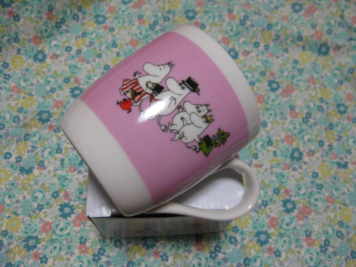 ムーミン☆リトルミイ☆スナフキン 陶器製 マグカップ 非売品 新品_画像3