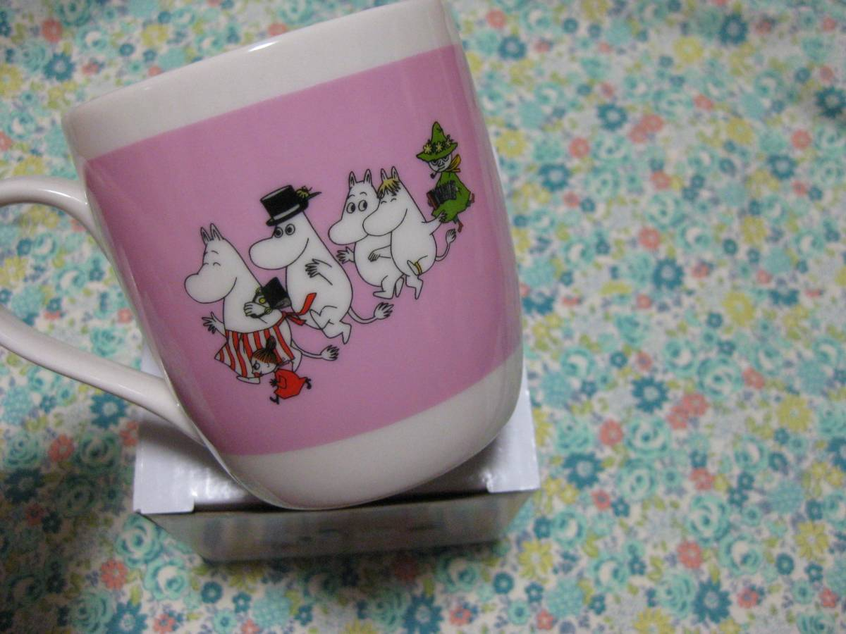 ムーミン☆リトルミイ☆スナフキン 陶器製 マグカップ 非売品 新品_画像2